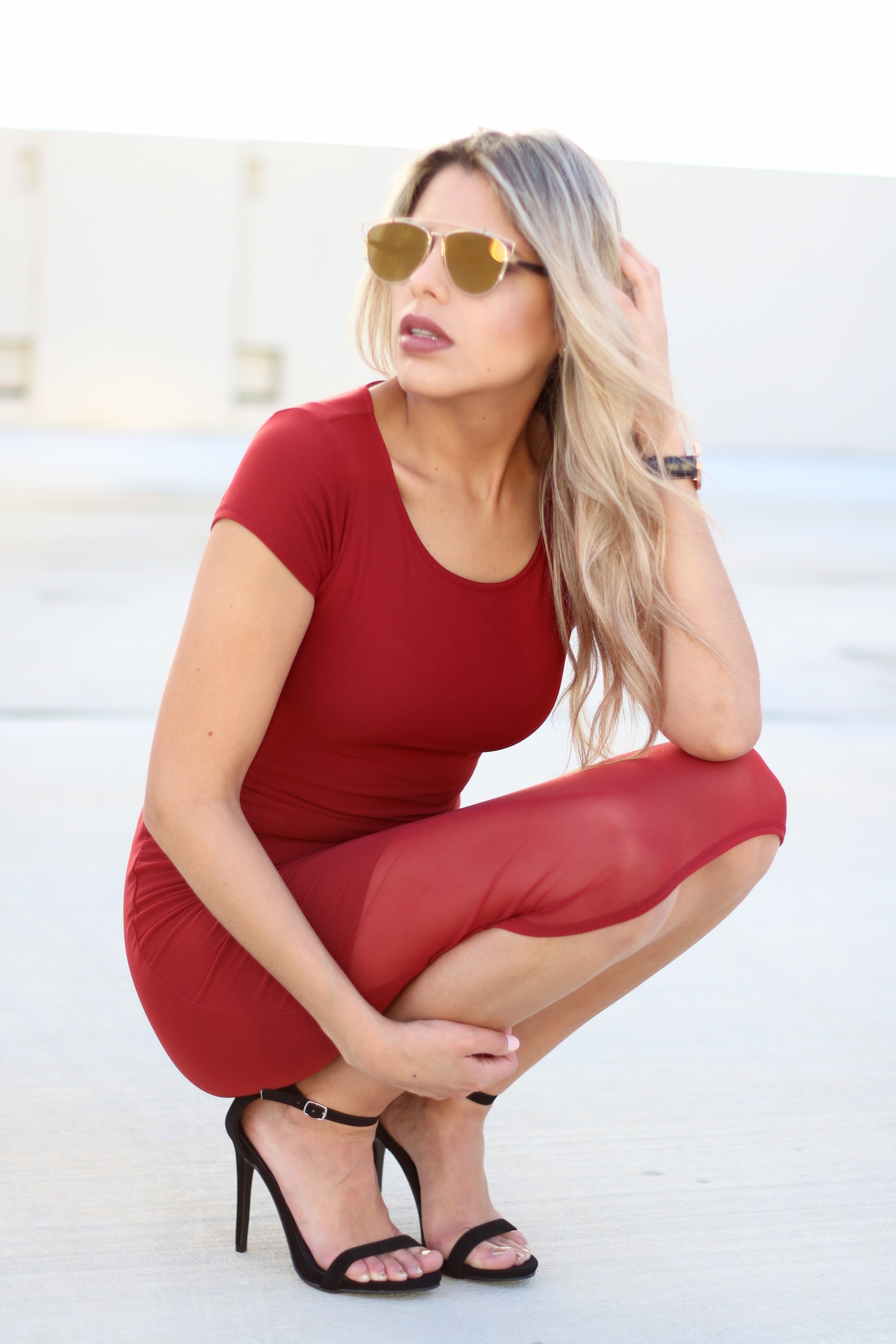 Red-sexy-dress