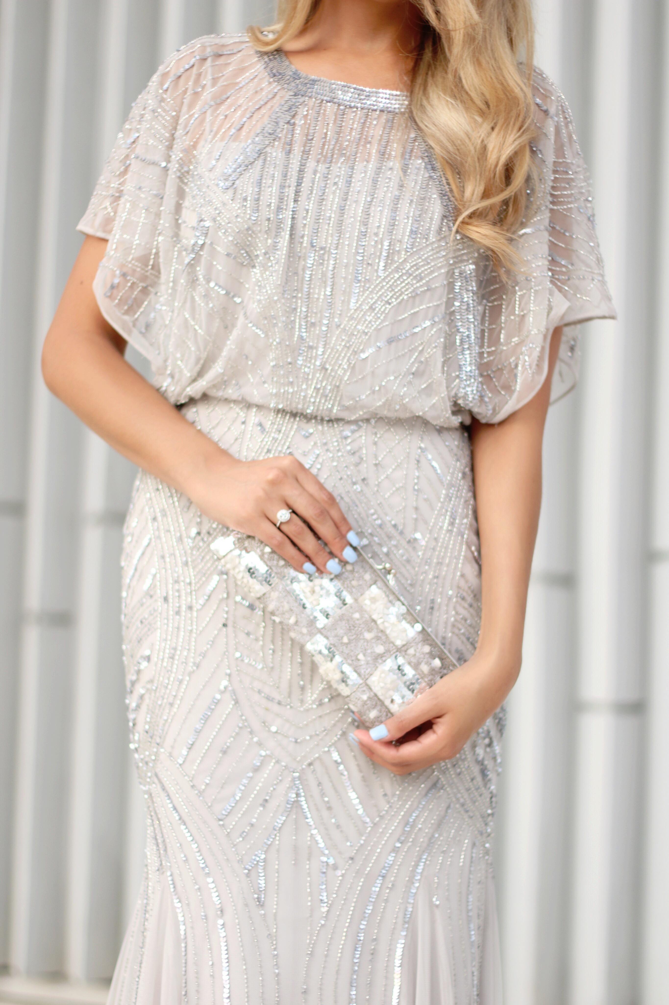 Chiffon-beads-dress