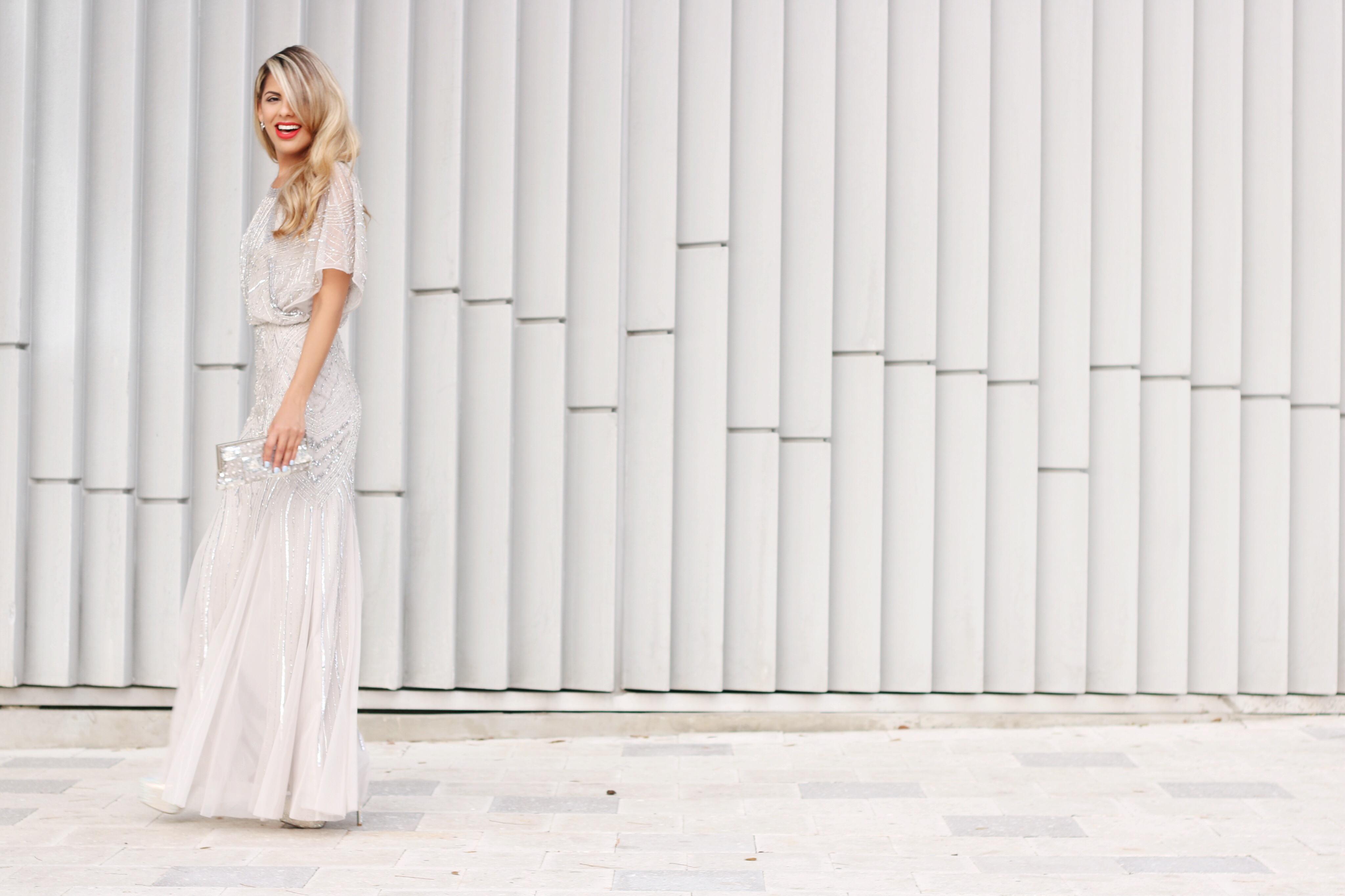 Embellished-dress